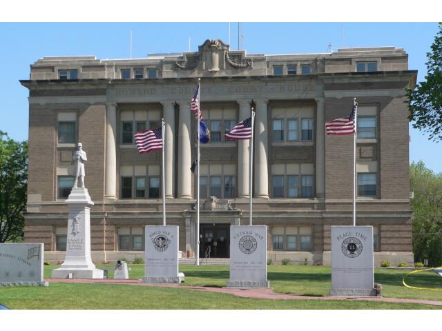 Howard County  Nebraska courthouse from S 1 image