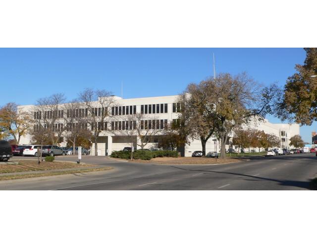 Lancaster County  Nebraska courthouse from SE image