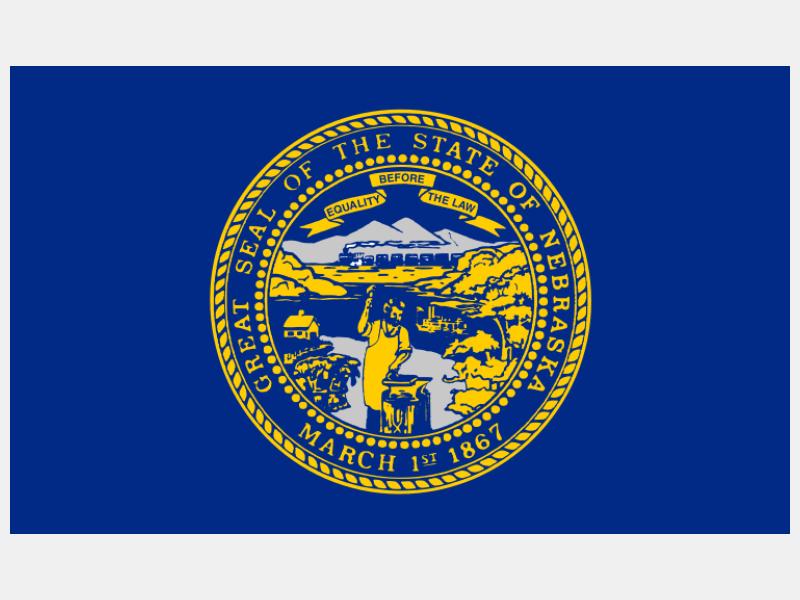 Flag of Nebraska flag image