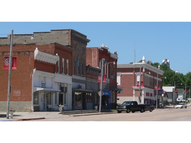 Nelson  Nebraska downtown 3 image
