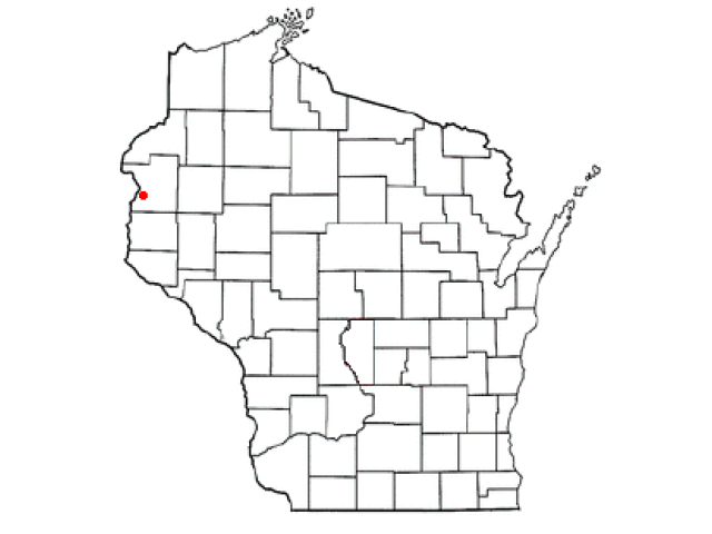 Osceola locator map