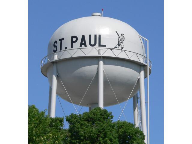 Saint Paul  Nebraska water tower 2 image