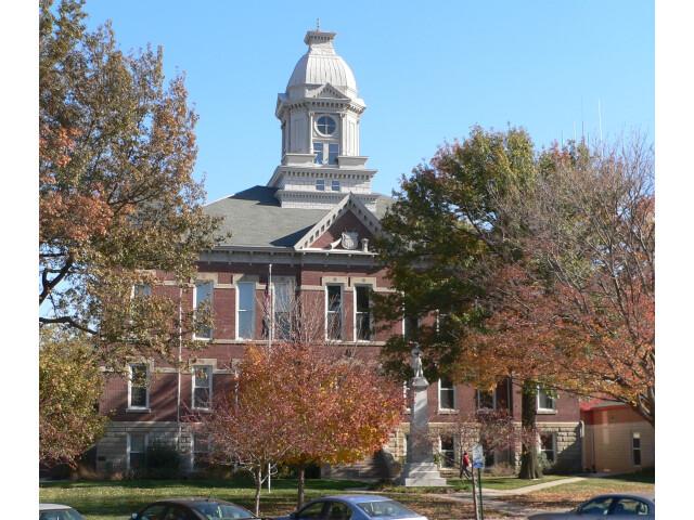 Washington County  Nebraska courthouse from W image