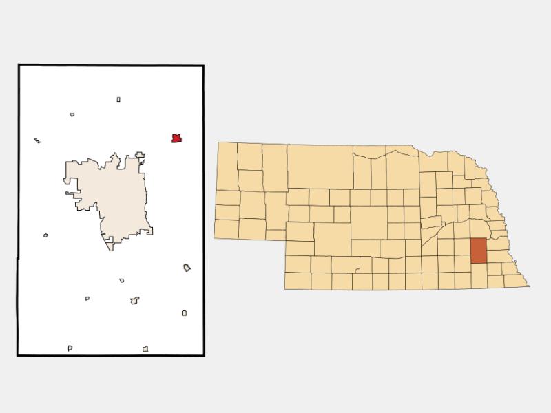 Waverly locator map