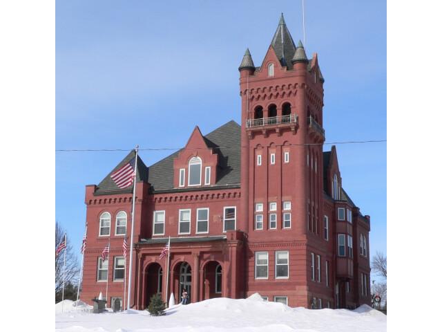 Wayne County Courthouse 'Nebraska' from SE 1 image