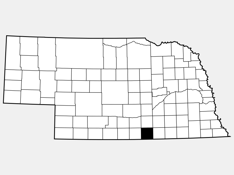 Webster County locator map