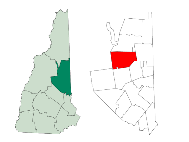Albany locator map