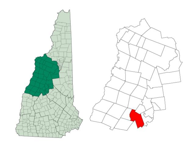 Alexandria locator map
