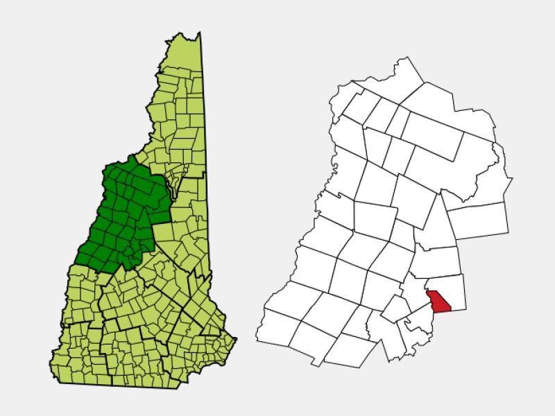 Ashland locator map