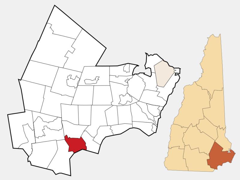 Atkinson locator map