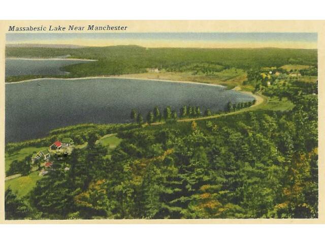 Massabesic Lake-Postcard-1920 image