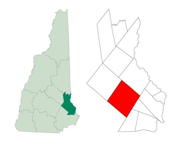 Barrington locator map