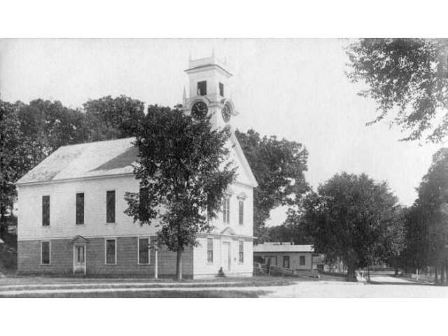 Brookline Community Church  Brookline  NH image