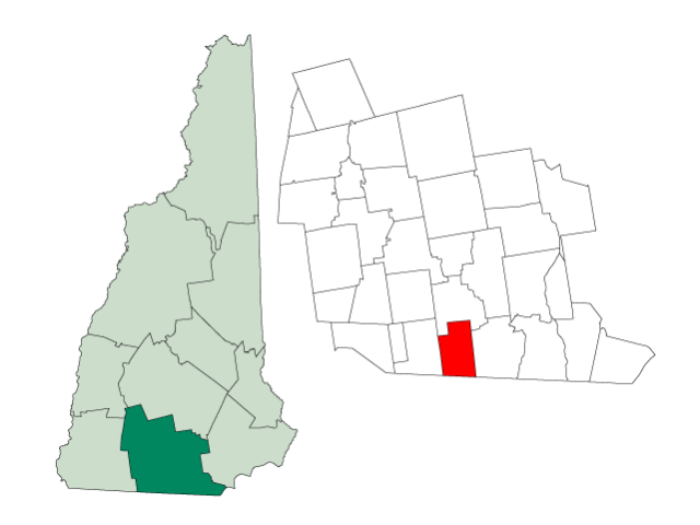 Brookline locator map