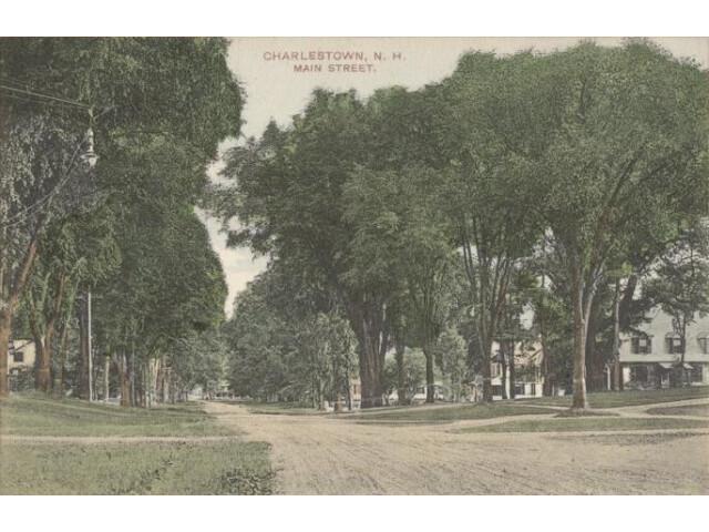 Main Street  Charlestown  NH image