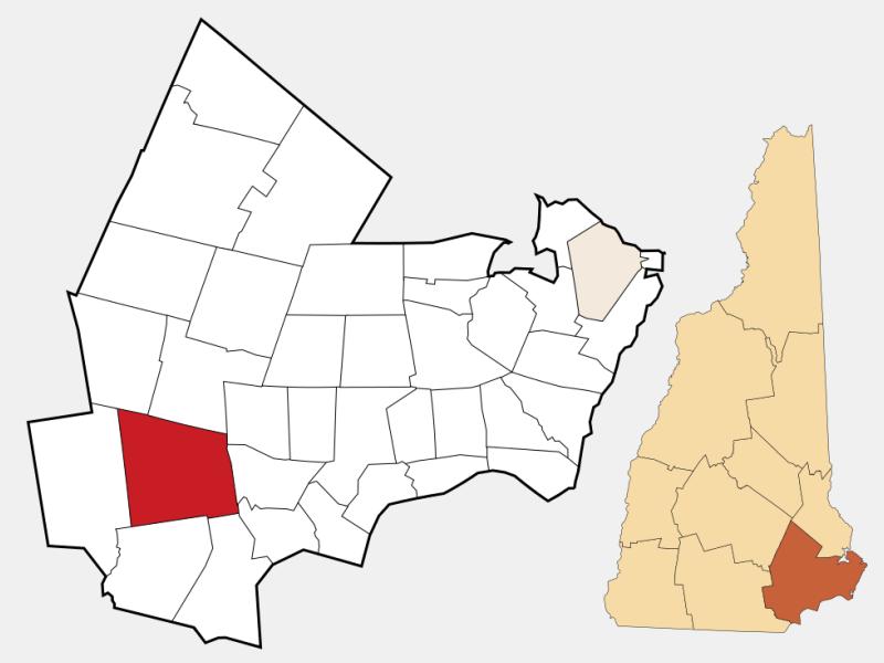 Derry locator map