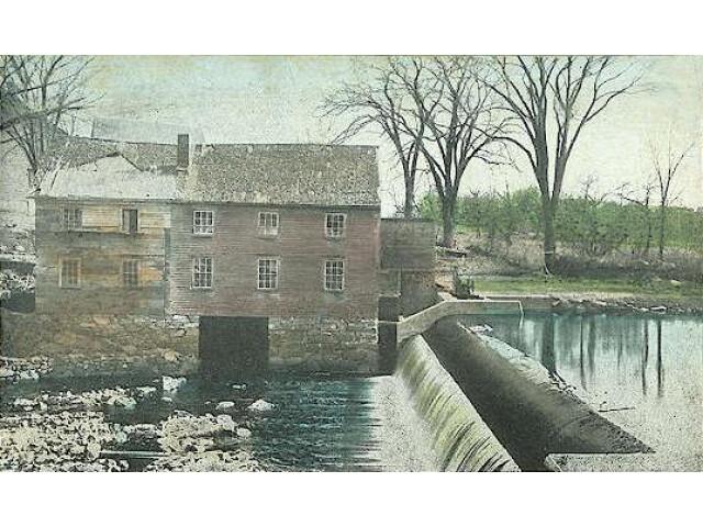Old Mill %26 Dam  Durham  NH image