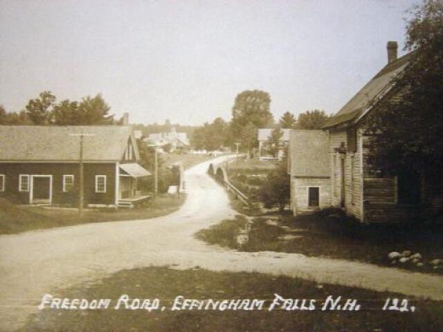 Freedom Road  Effingham Falls  NH image