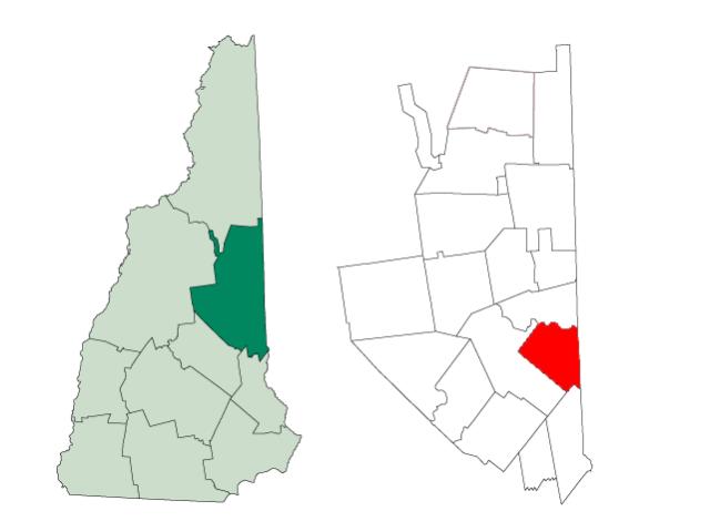 Effingham locator map