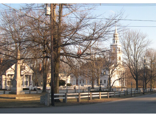 Third Fitzwilliam Meeting House and Common  Fitzwilliam  New Hampshire image