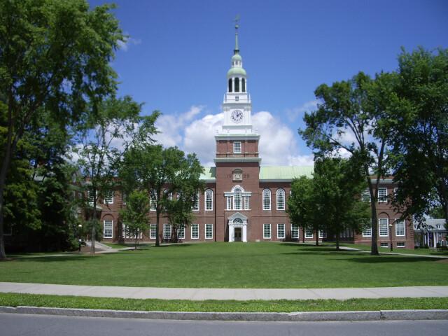 Dartmouth College campus 2007-06-23 Baker Memorial Library 02 image