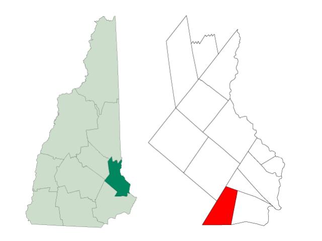 Lee locator map