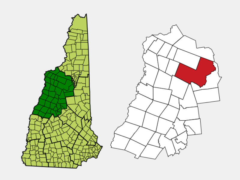 Lincoln locator map