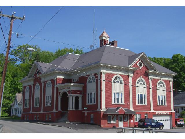 Lisbon NH town hall image