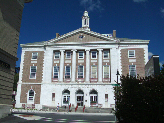 Littleton NH Courthouse and Post Office image