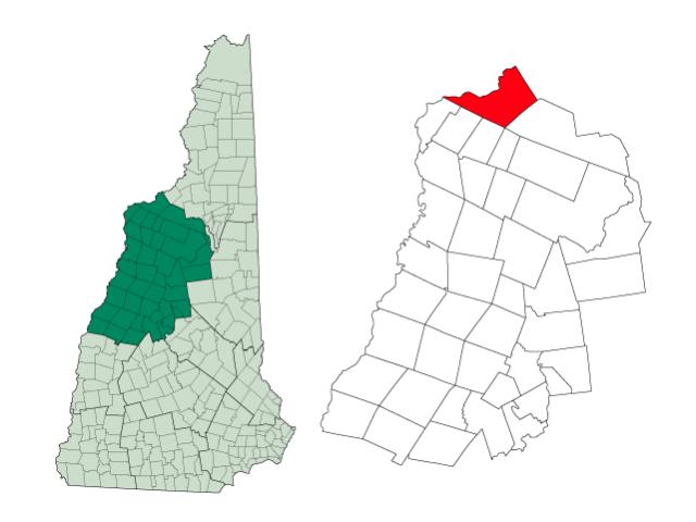 Littleton locator map