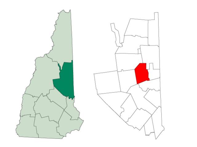 Madison locator map