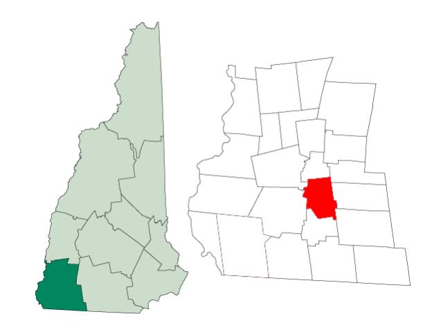 Marlborough locator map
