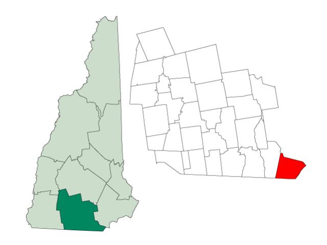 Pelham locator map