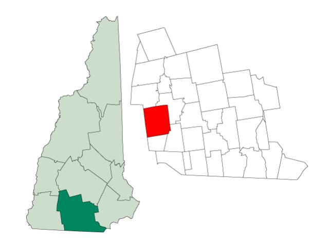 Peterborough locator map