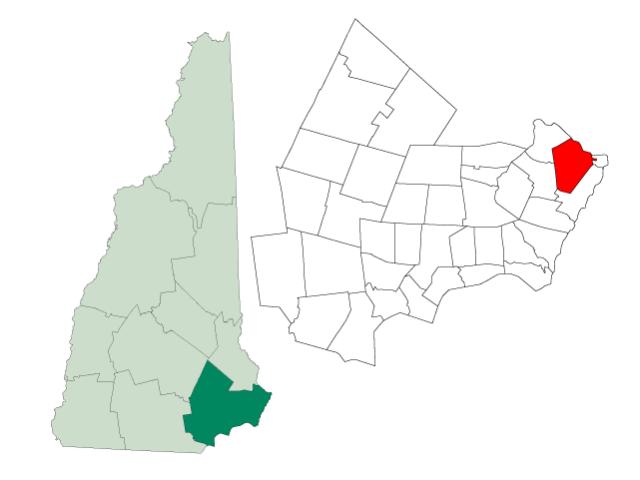 Portsmouth locator map