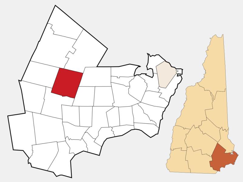 Raymond locator map