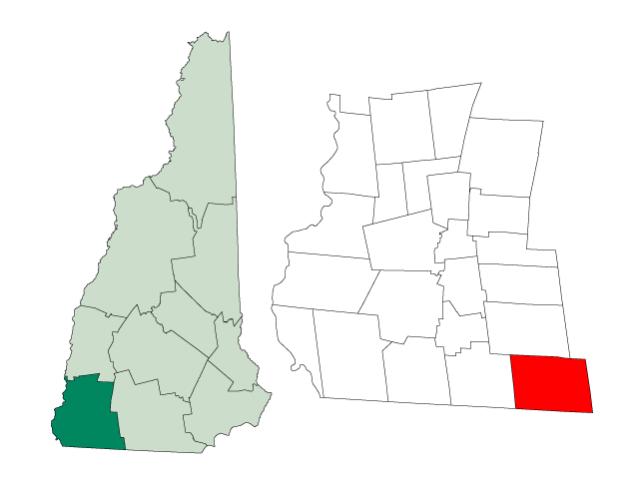 Rindge locator map