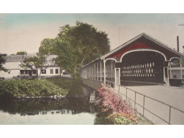 Old Covered Bridge  West Swanzey  NH image