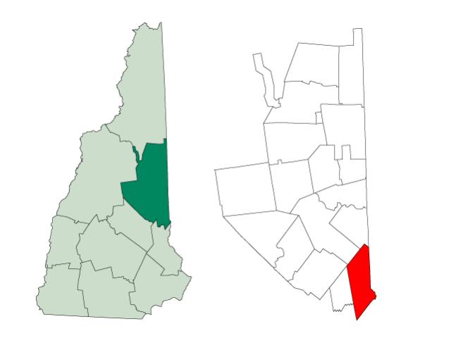 Wakefield locator map