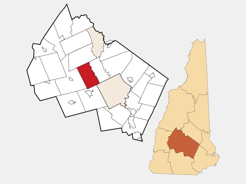 Webster locator map