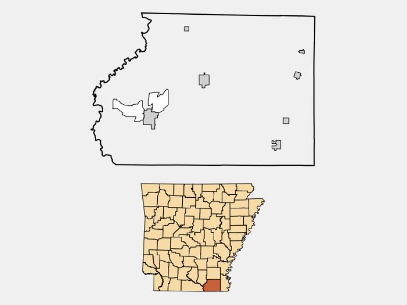 Wilmot location map