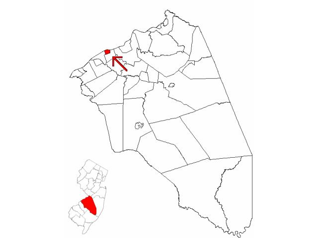 Beverly locator map