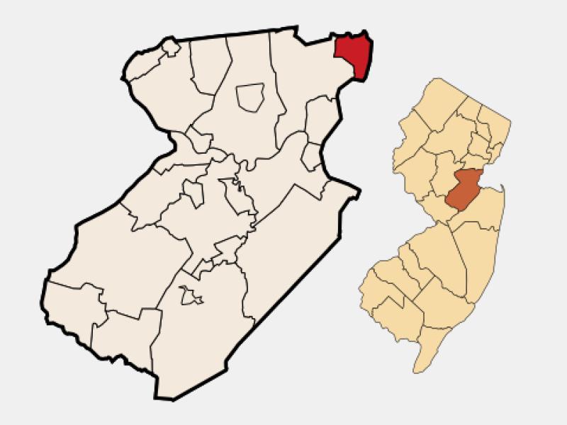 Carteret locator map