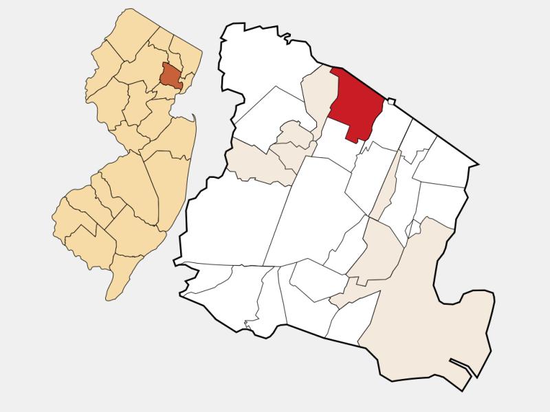 Cedar Grove locator map