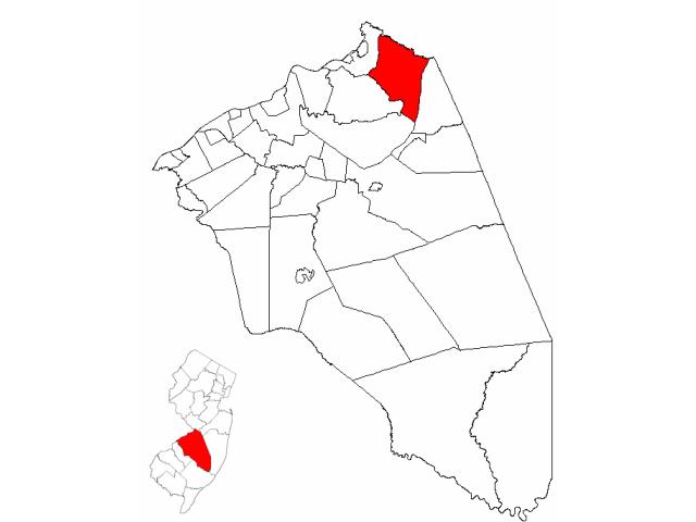 Chesterfield locator map