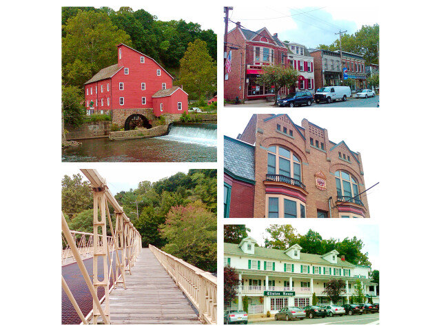 Clinton NJ Photo Collage image