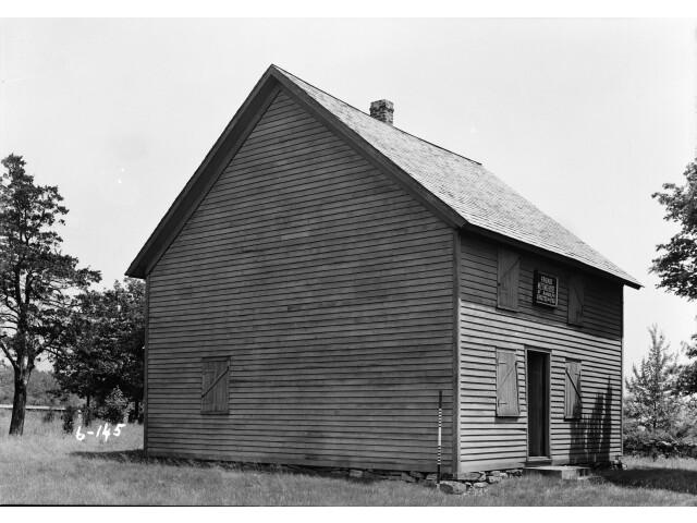 HABS R. Merritt Lacey  Photographer June 3  1936 Friends Meetinghouse of Randolph  Dover  Morris County  NJ image