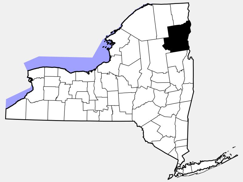 Essex County, NJ locator map