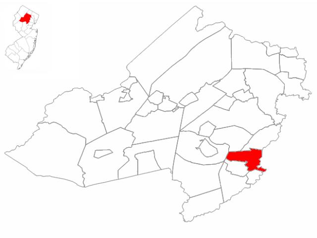 Florham Park locator map