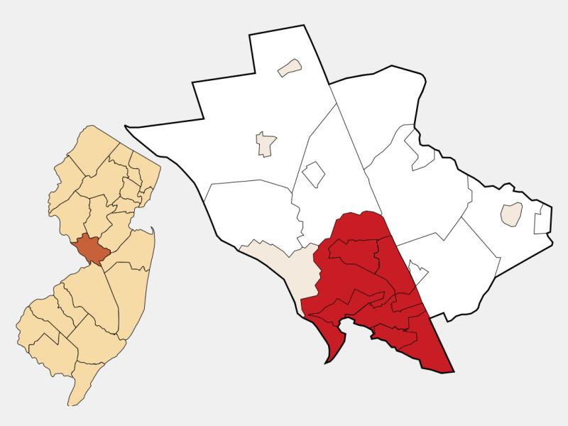 Hamilton location map